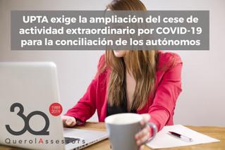 UPTA y conciliación de autónomos