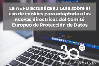 Uso de cookies y Protección de Datos