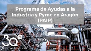Programa de Ayudas a la Industria y Pyme en Aragón