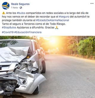 Bulos en Internet sobre el seguro del automóvil