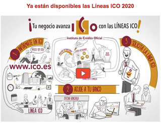 Líneas ICO ya disponibles en las entidades financieras