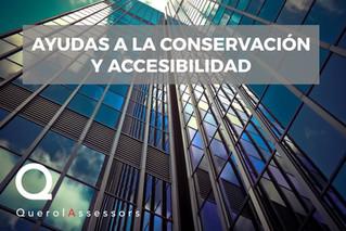 Ayudas a la conservación y accesibilidad