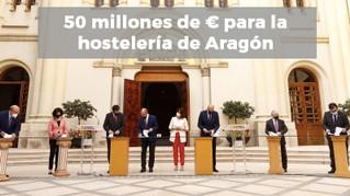50 millones de € para la hostelería de Aragón