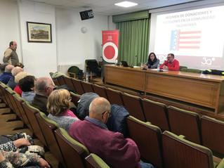 Explicamos en Vilafranca la regulación de sucesiones en la Com. Valenciana