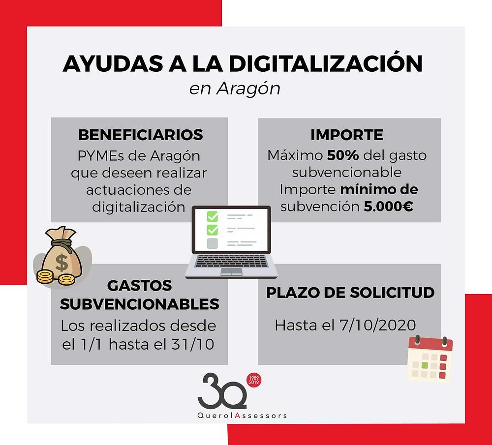 ayuda digitalizacion aragon