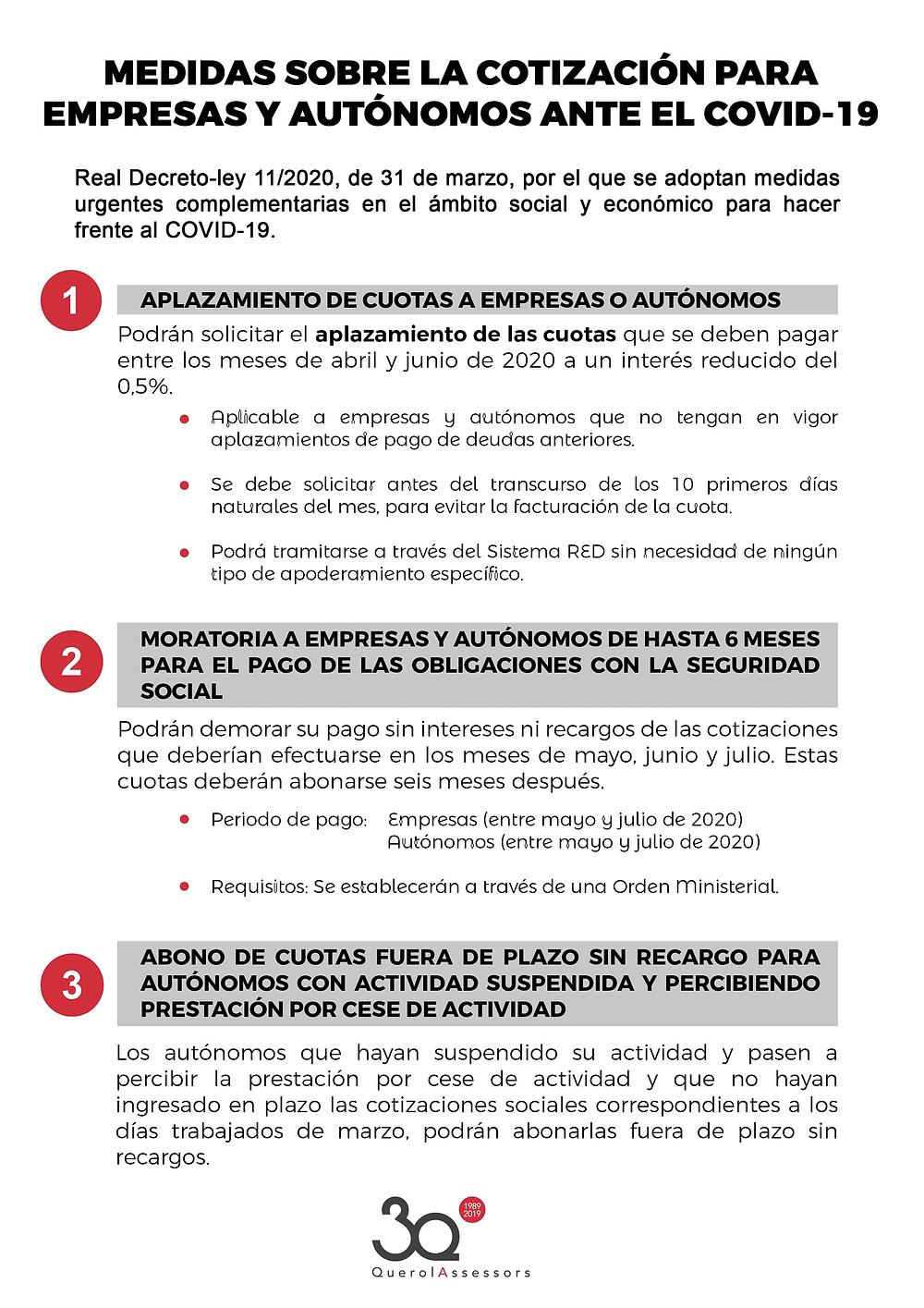 cotizacion seguridad social covid19