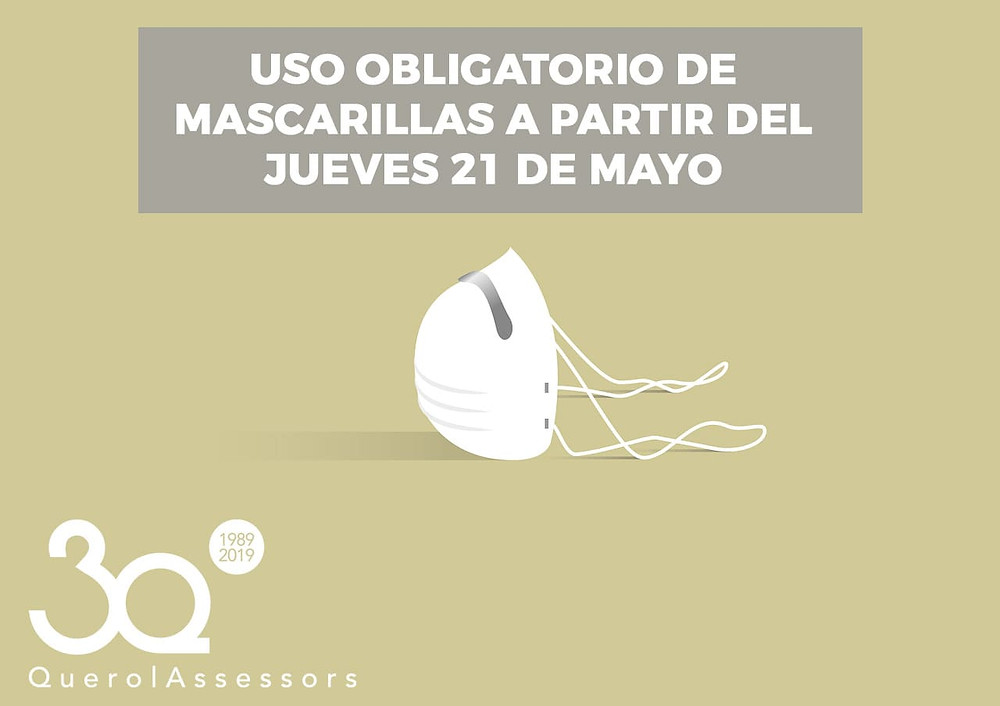 uso obligatorio mascarillas