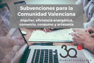Ayudas para la Comunidad Valenciana