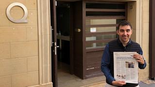 Salimos en el Periódico Mediterráneo