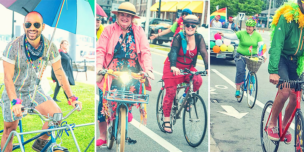 Newport's 2021 Pride Ride
