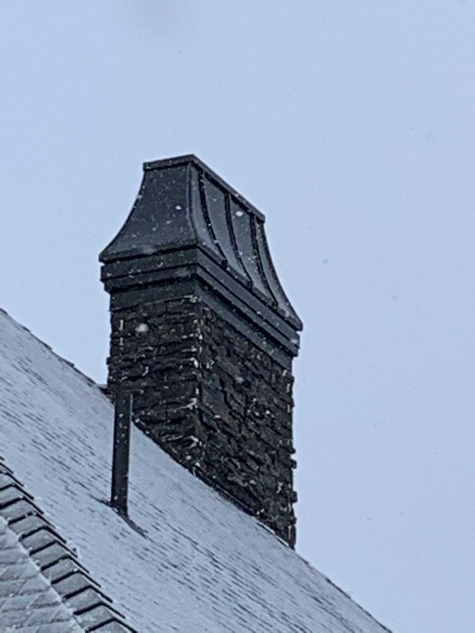 Black Chimney Cap