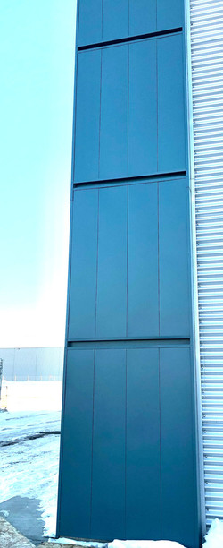 Slate Blue Wall Panel