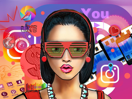"What ""lifestyle"" is social media espousing?"