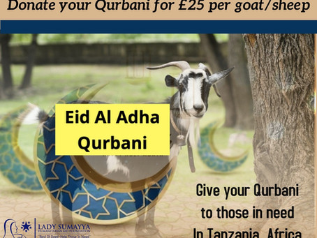 Eid ul Adha Qurbani 2021