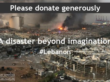 Lebanon - A disaster beyond imagination