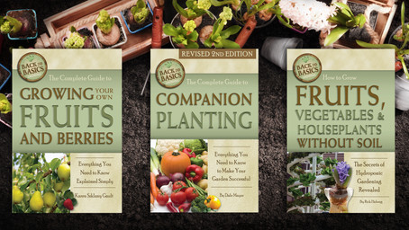Get Ready for Spring: Back to Gardening Basics