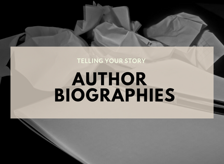 Telling Your Story: Author Biographies
