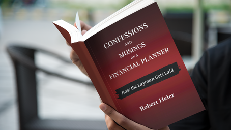 Confessions and Musings of a Financial Planner