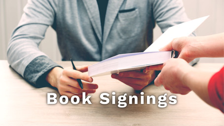 Benefits of Book Signings