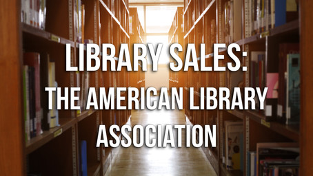 Library Sales Part 2: The American Library Association