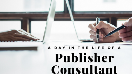 A Day in the Life of a Publisher Consultant