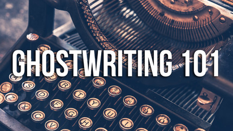 Ghostwriting 101