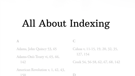 All About Indexing