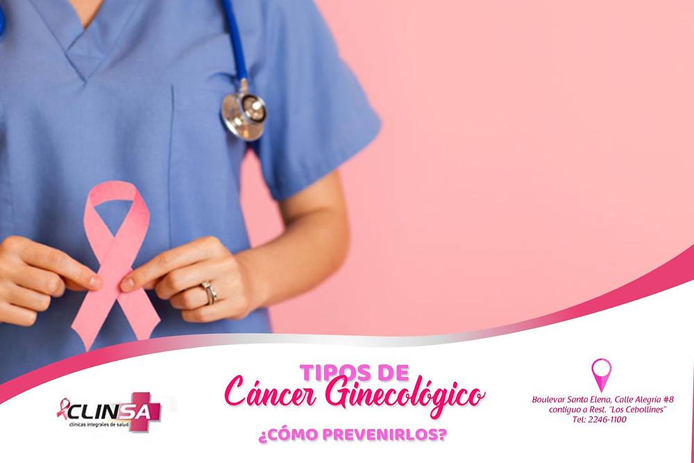 tipos de cancer ginecologico