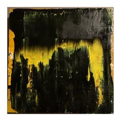 wood panel acrylic on canvas. 8x8 $125
