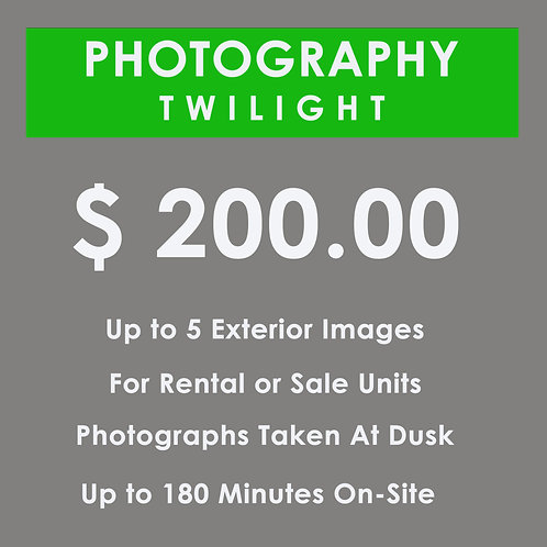 TWILIGHT PHOTOGRAPHY