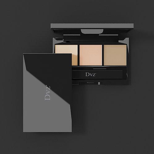 朵色三色遮瑕膏DVZ Tri-Color Concealer