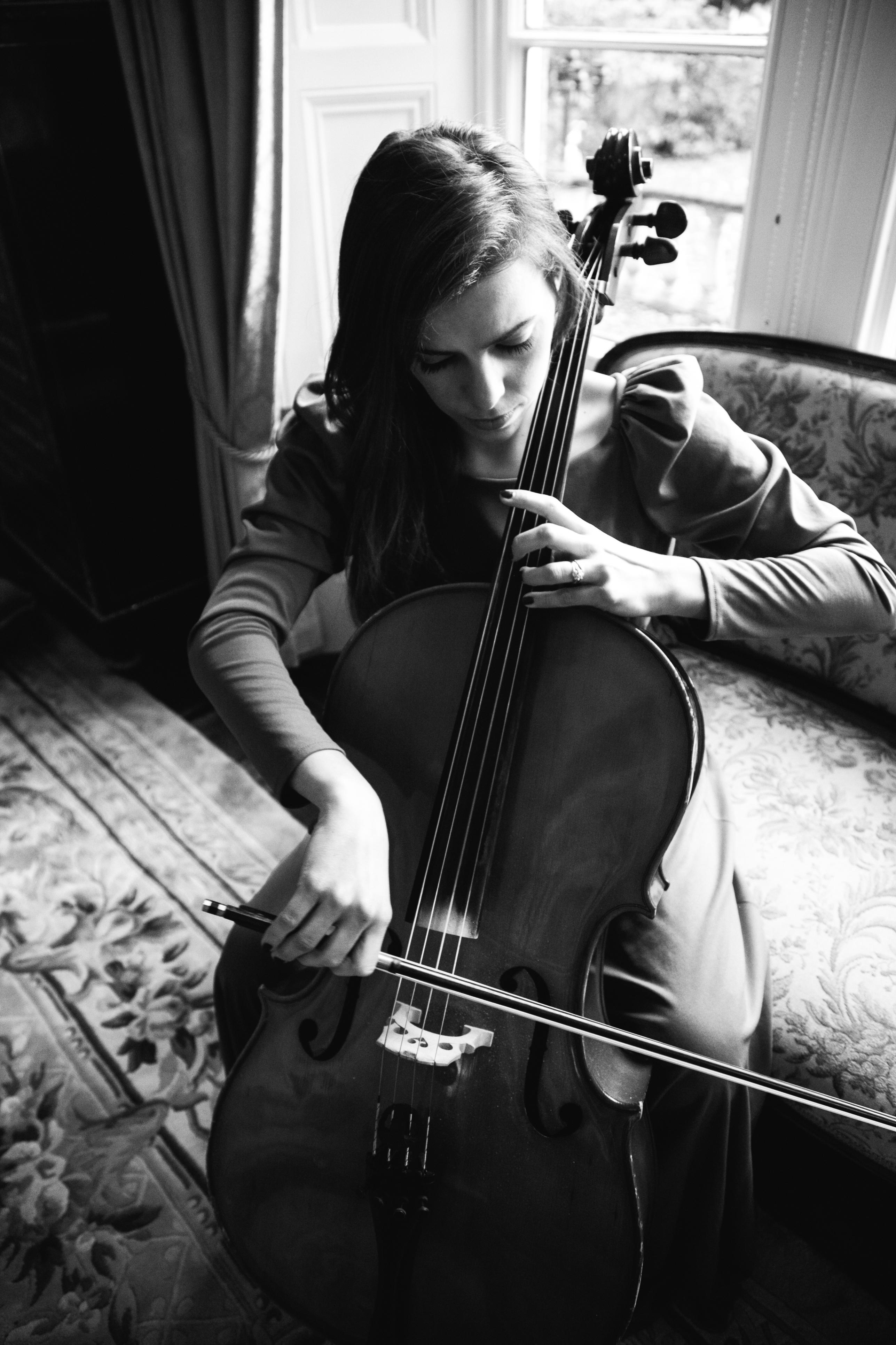 cello wedding
