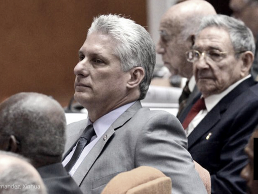 MIGUEL DIAZ-CANEL IS NEW CHIEF OF COMMUNIST PARTY OF CUBA