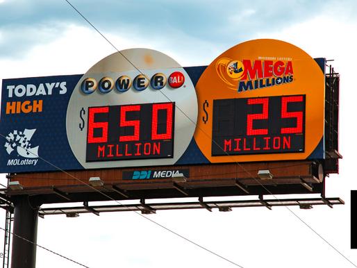 ONE WINNER FOR $1B PRIZE IN MEGA MILLIONS U.S. LOTTERY