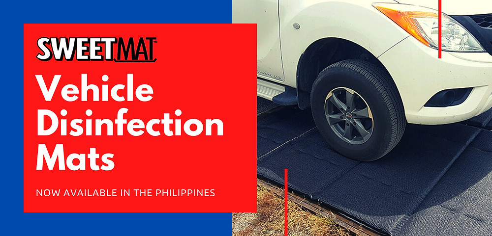 Sweetmat is an proven, effective, cost efficient disinfection mat from New Zealand.