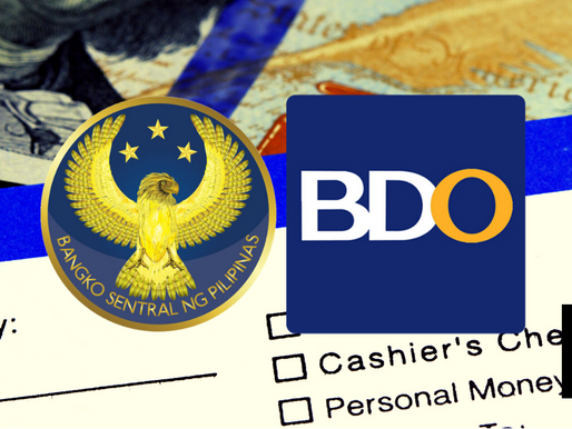 BSP COMPLAINT FILED VS BDO ON REMITTANCE WITHHELD
