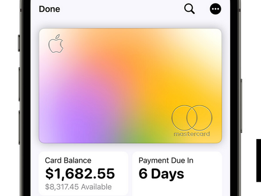 Survey Ranks Apple Card and Goldman Sachs No. 1 In Midsized Credit Card Customer Satisfaction