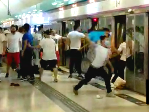 5 MEN CONVICTED FOR ATTACKING HK PROTESTERS IN 2019