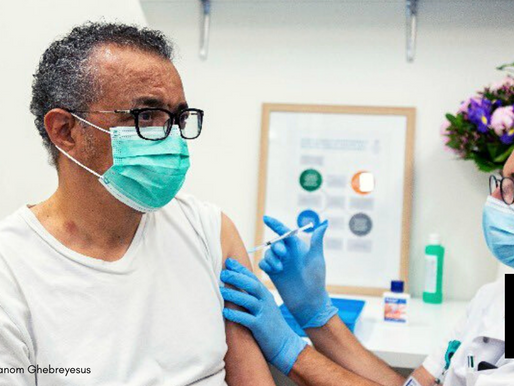 WHO DIRECTOR-GENERAL VACCINATED