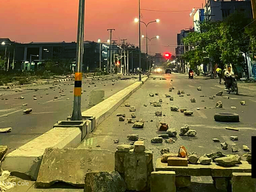 PROTESTERS DEFY MYANMAR COPS, UN MULLS STRONG ACTION
