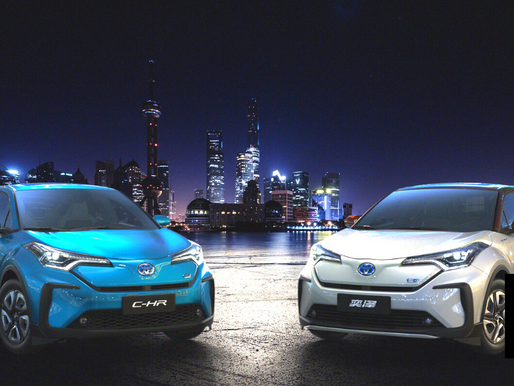 TOYOTA HAS A LOT OF CATCHING UP TO DO WITH GM IN CHINA'S EV MARKET