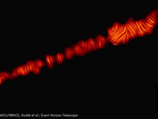 Astronomers Capture Rare Image Of Black Hole Plasma For 2nd Time