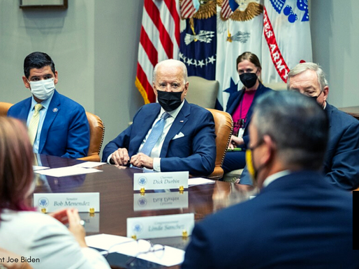 Biden Tells Federal Workers: Mask Up Unless You're Vaccinated