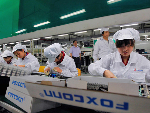 FOXCONN SHIFTS APPLE PRODUCTION TO VIETNAM TO REDUCE CHINA RISKS