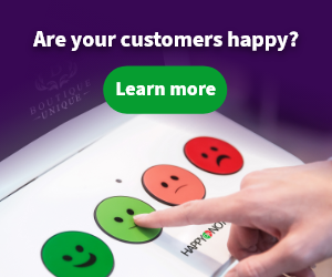 Happyornot makes feedback terminals measuring customer satisfaction sing smiley-face buttons.