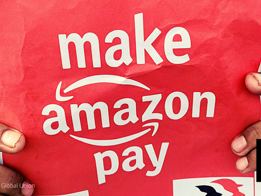UNION RAPS AMAZON FOR ILLEGALLY MEDDLING WITH VOTE