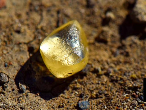Couple Finds Rare Yellow Diamond