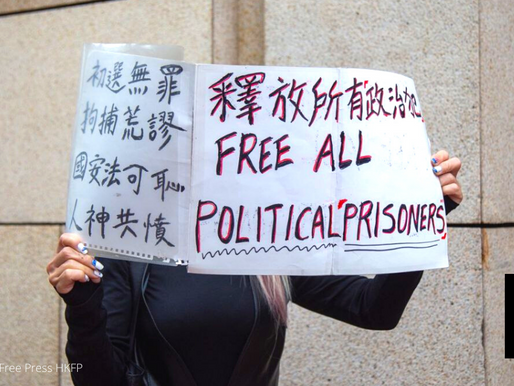 HK JUDGE CONVICTS 3 FOR MERE PRESENCE AT NAT'L DAY UNREST