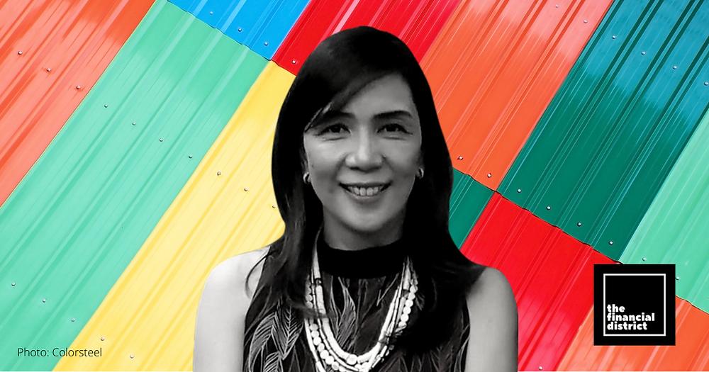 Colorsteel's president Juliet Jacinto Castro-Cabatingan breaks barriers.