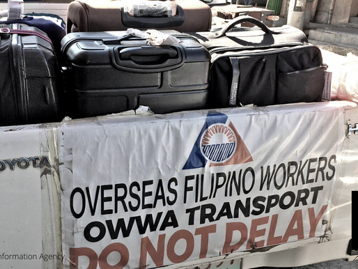 DOLE ASSISTANCE TO DISPLACED OFWs REACHES P5 BILLION